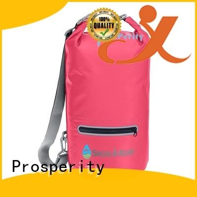 Outdoor waterproof dry bag with  shoulder strap