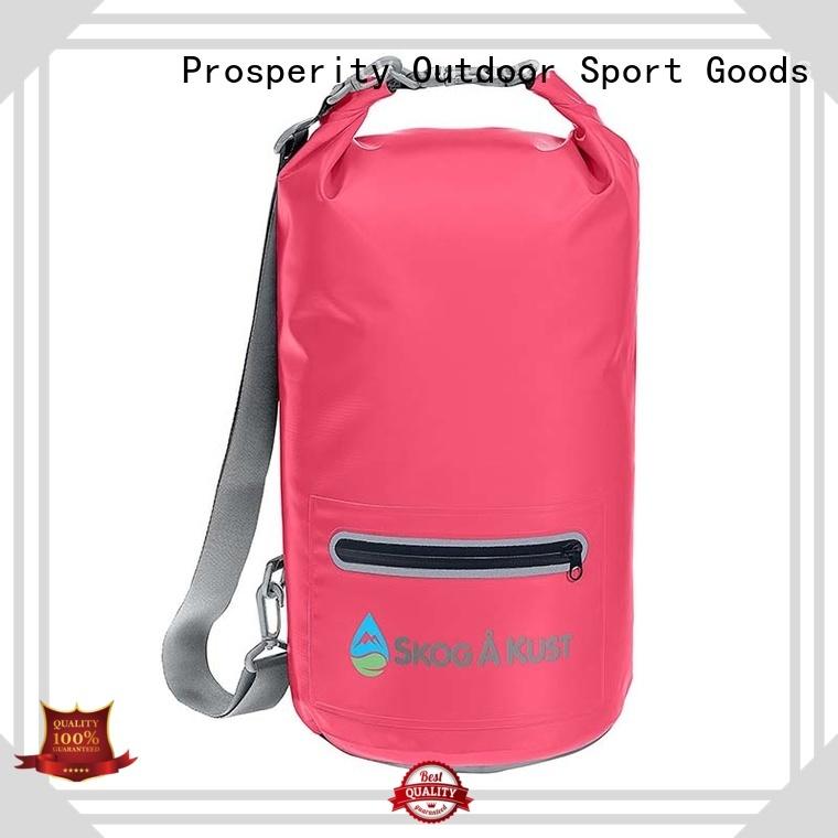 sailing dry bag with adjustable shoulder strap for rafting Prosperity