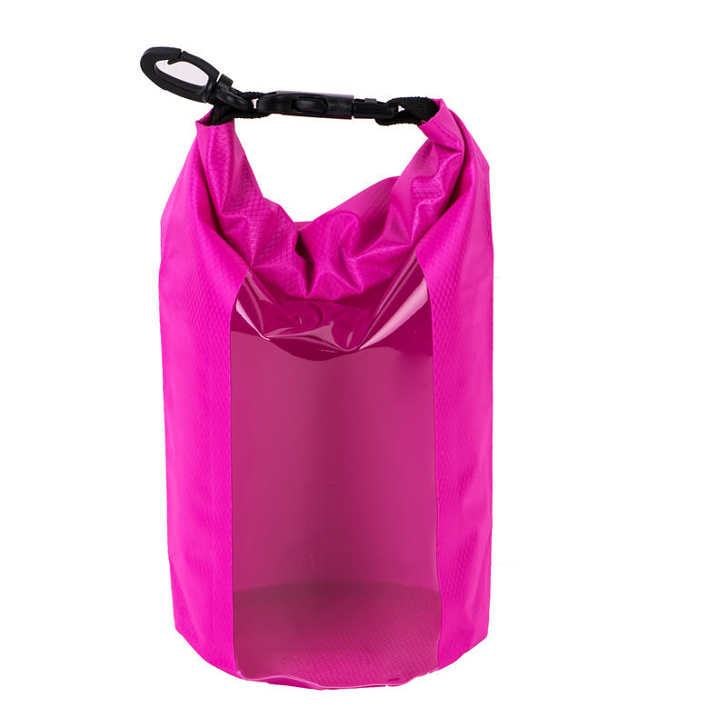 Prosperity light drybag with adjustable shoulder strap open water swim buoy flotation device-3