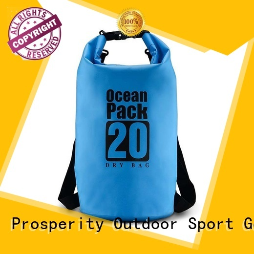 Prosperity heavy duty go outdoors dry bag with innovative transparent window design for fishing
