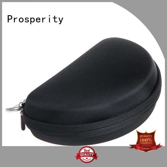 Prosperity black hard eva case glasses travel case for gopro camera
