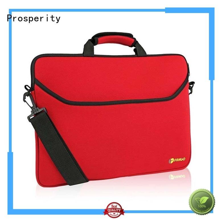 Prosperity promotion custom neoprene bags carrying case for hiking