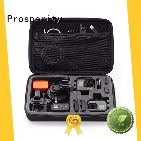 Prosperity eva protective case with strap for brushes