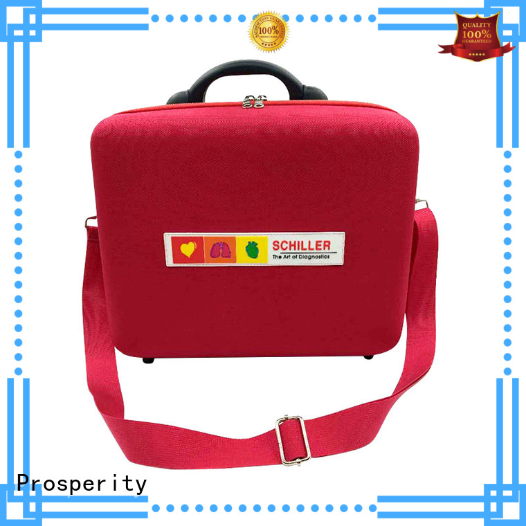 Prosperity eva hard case first aid pouch for brushes