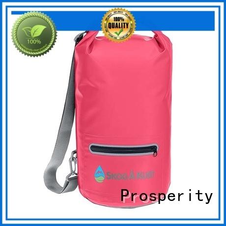 Prosperity floating dry pack backpack custom for boating