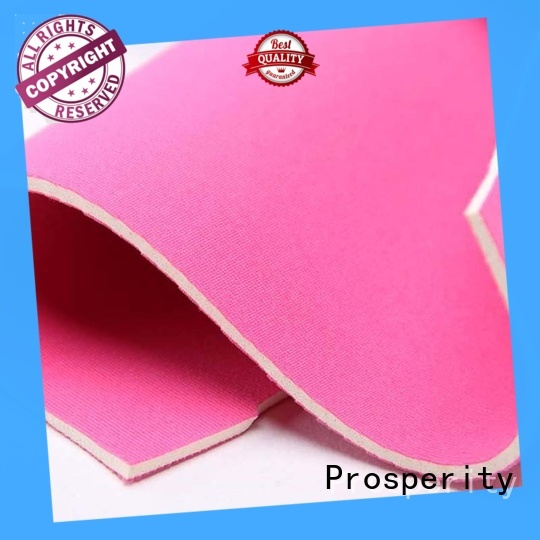 Prosperity neoprene fabric suppliers supplier for bags