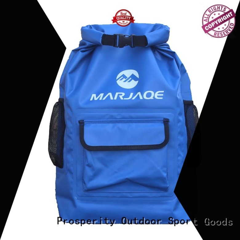 floating go outdoors dry bag with innovative transparent window design for rafting