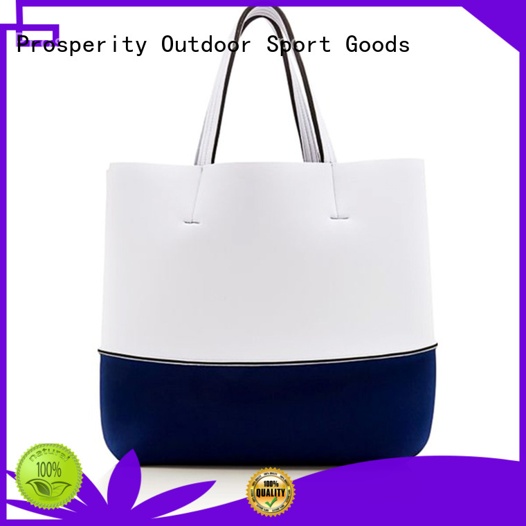Prosperity new style wholesale neoprene bags with accessories pocket for hiking