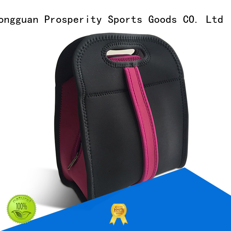 Prosperity double neoprene laptop case with handle water bottle holder for hiking