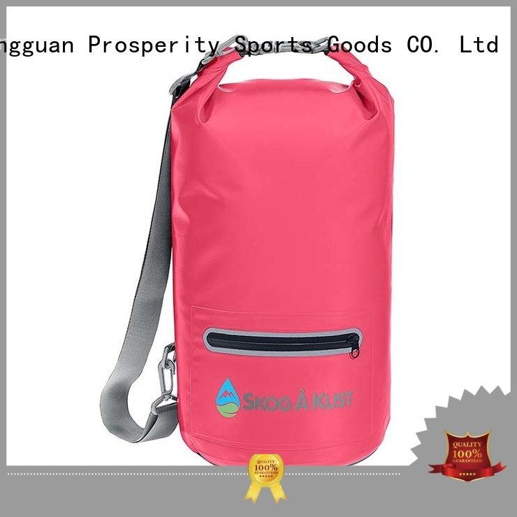 Prosperity dry bag sizes with innovative transparent window design for fishing