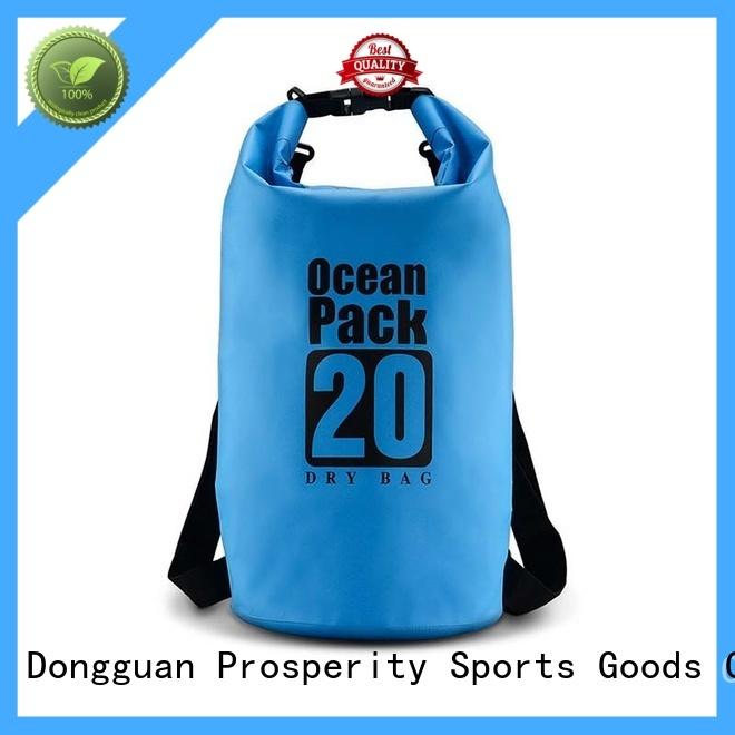 Outdoor waterproof sport dry bag with adjustable shoulder strap