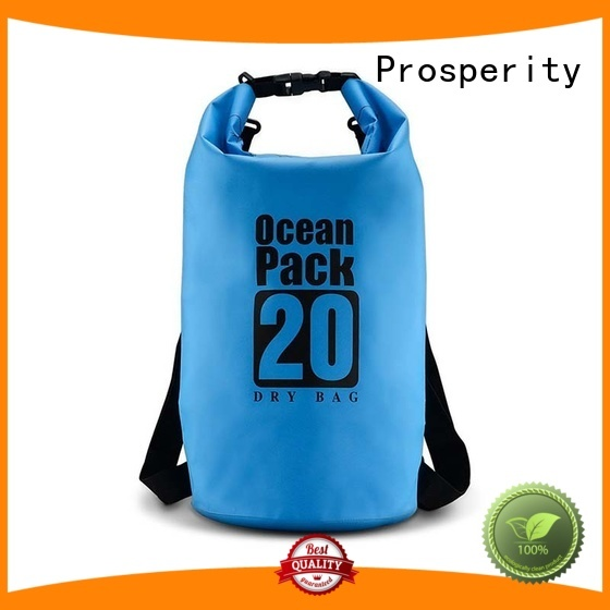 Prosperity go outdoors dry bag with innovative transparent window design for boating