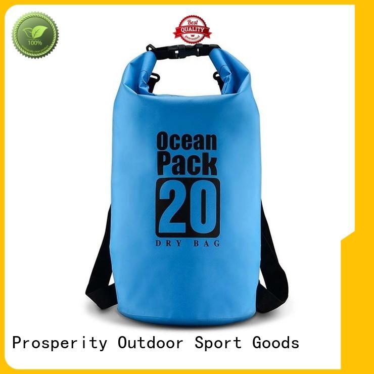 Prosperity dry bag sizes with adjustable shoulder strap for kayaking