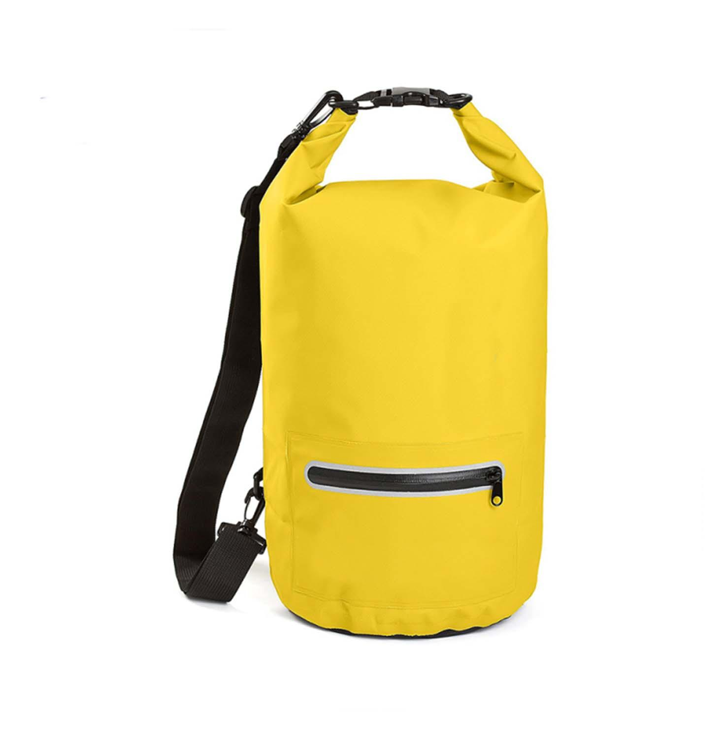 Prosperity floating dry bag sizes with adjustable shoulder strap for kayaking-3