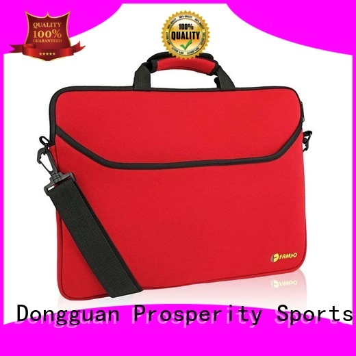 Prosperity double neoprene lunch bag carrying case for sale