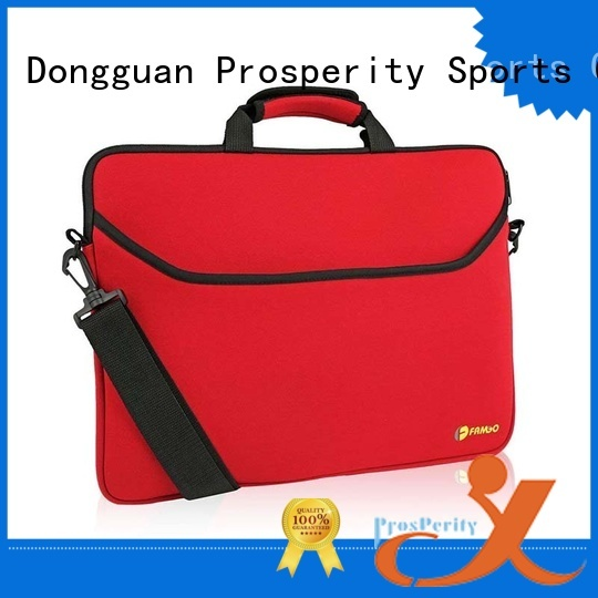 double Neoprene bag with accessories pocket for hiking