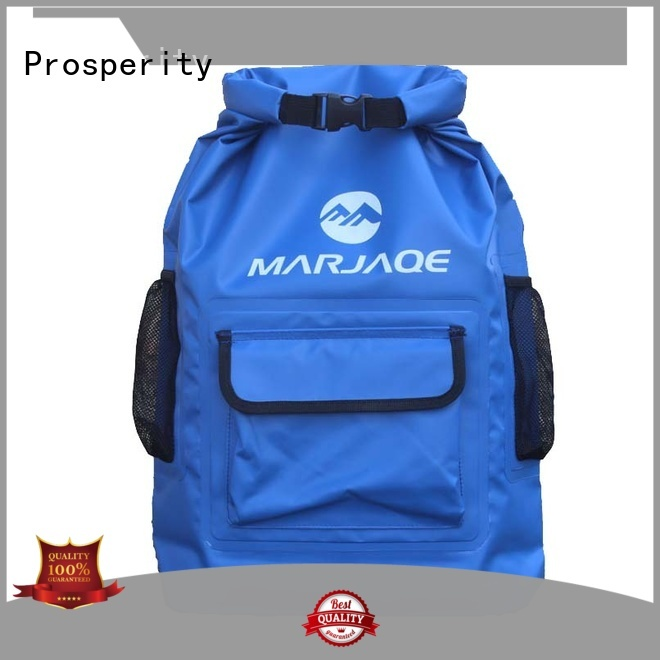 Prosperity dry bag with innovative transparent window design for boating