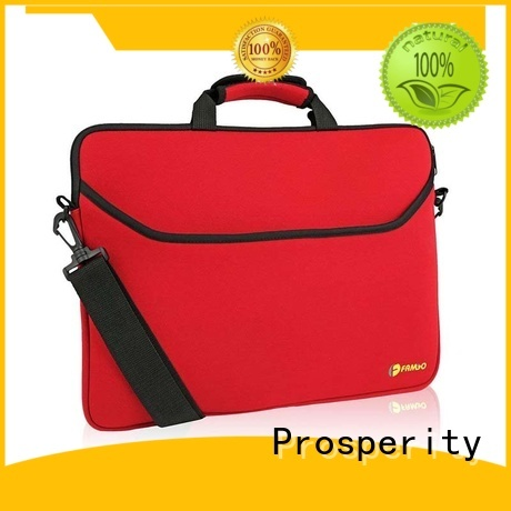 Prosperity lunch small neoprene bag with accessories pocket for hiking