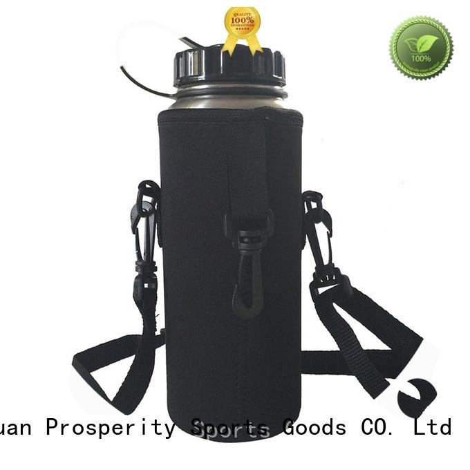 Prosperity beer Neoprene bag water bottle holder for hiking