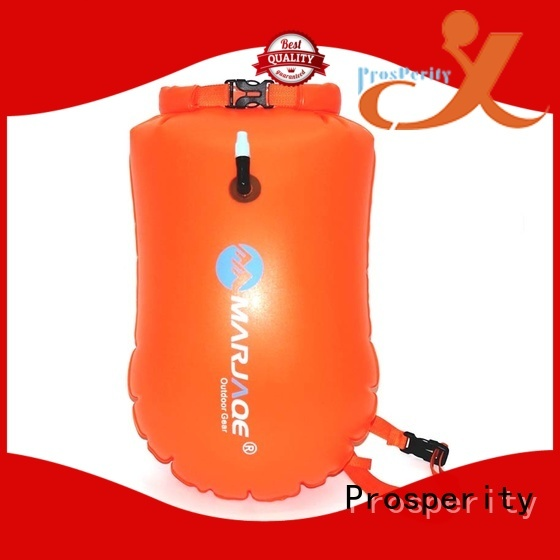 Prosperity light go outdoors dry bag with innovative transparent window design for fishing