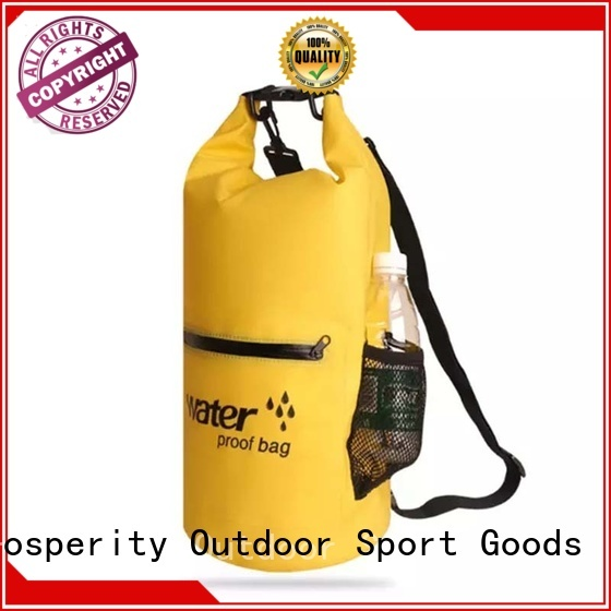Prosperity go outdoors dry bag with adjustable shoulder strap open water swim buoy flotation device