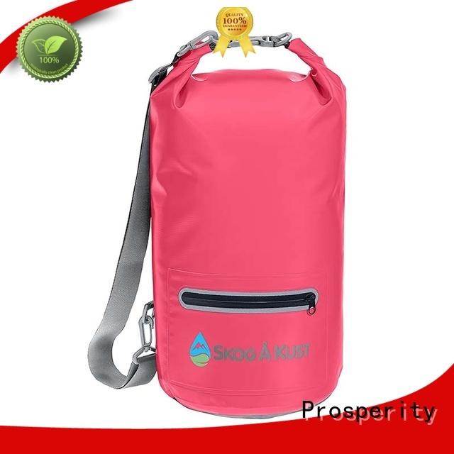 light Waterproof dry bag with adjustable shoulder strap for kayaking