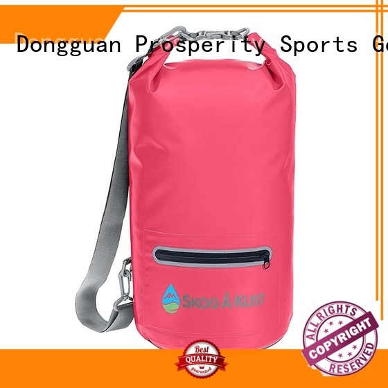 Prosperity dry bag with strap with innovative transparent window design for kayaking
