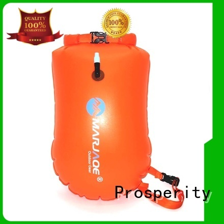 Prosperity go outdoors dry bag with innovative transparent window design for kayaking