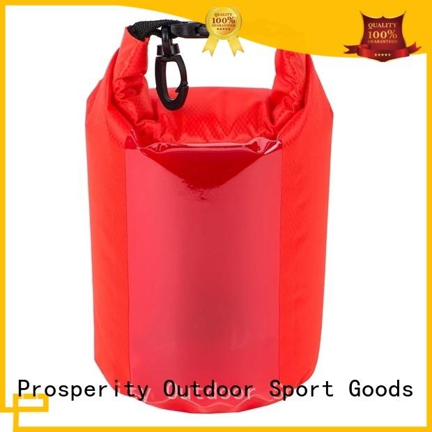 Prosperity light Waterproof dry bag with adjustable shoulder strap for kayaking