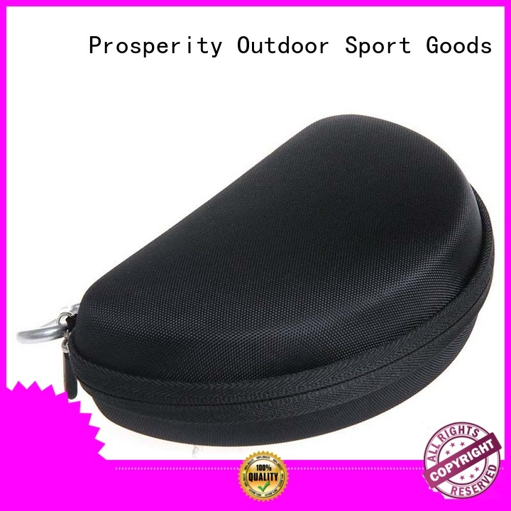 Prosperity pu leather eva carrying case speaker case for gopro camera