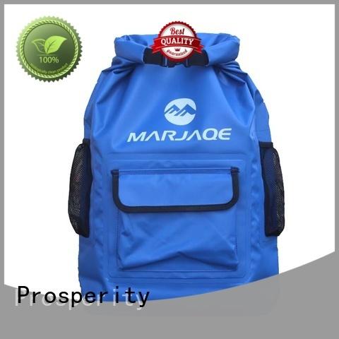 Prosperity dry pack bag manufacturer for fishing