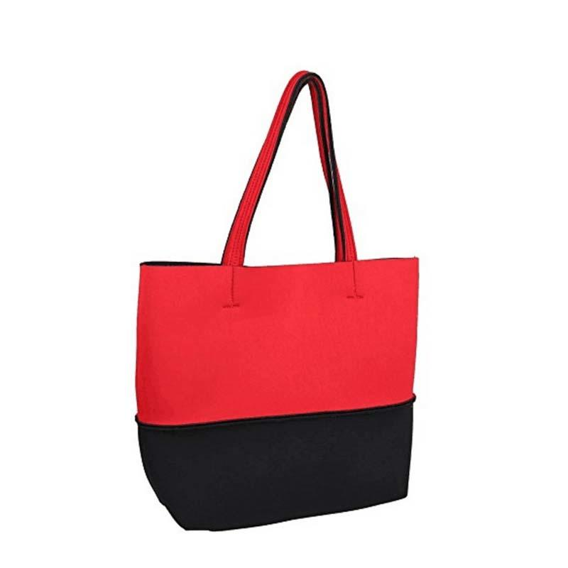 Fashion neoprene beach  tote bags  for travel and hiking-2