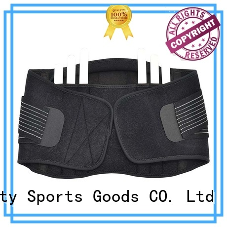 Prosperity lumbar support sport pull straps for powerlifting