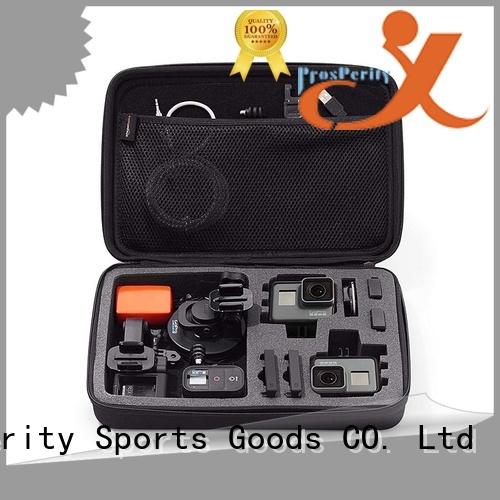 mini eva hard case disk carrying case for gopro camera
