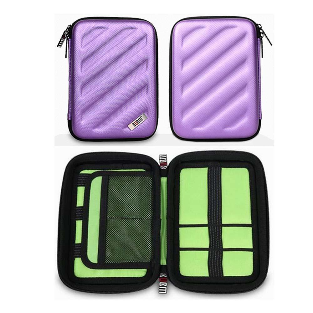 portable eva hard case disk carrying case for brushes-2