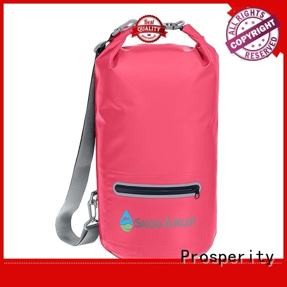 outdoor dry bag with adjustable shoulder strap open water swim buoy flotation device