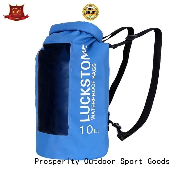 Prosperity dry pack bag manufacturer for rafting