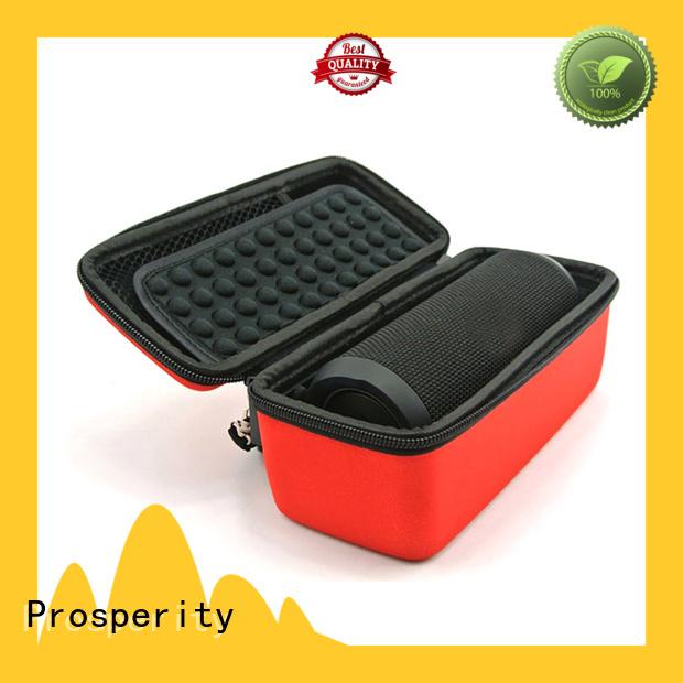 Prosperity deluxe eva zip case speaker case for gopro camera