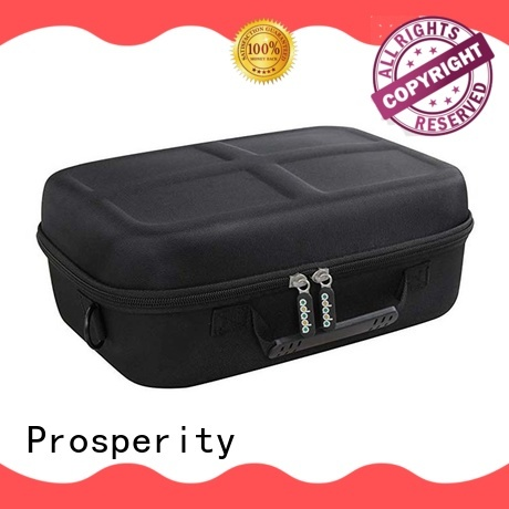 Prosperity portable custom eva case with strap for gopro camera