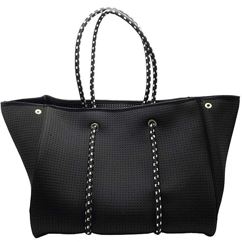 Perforated Neoprene Bag Beach Bag Tote Handbag Bags For Women