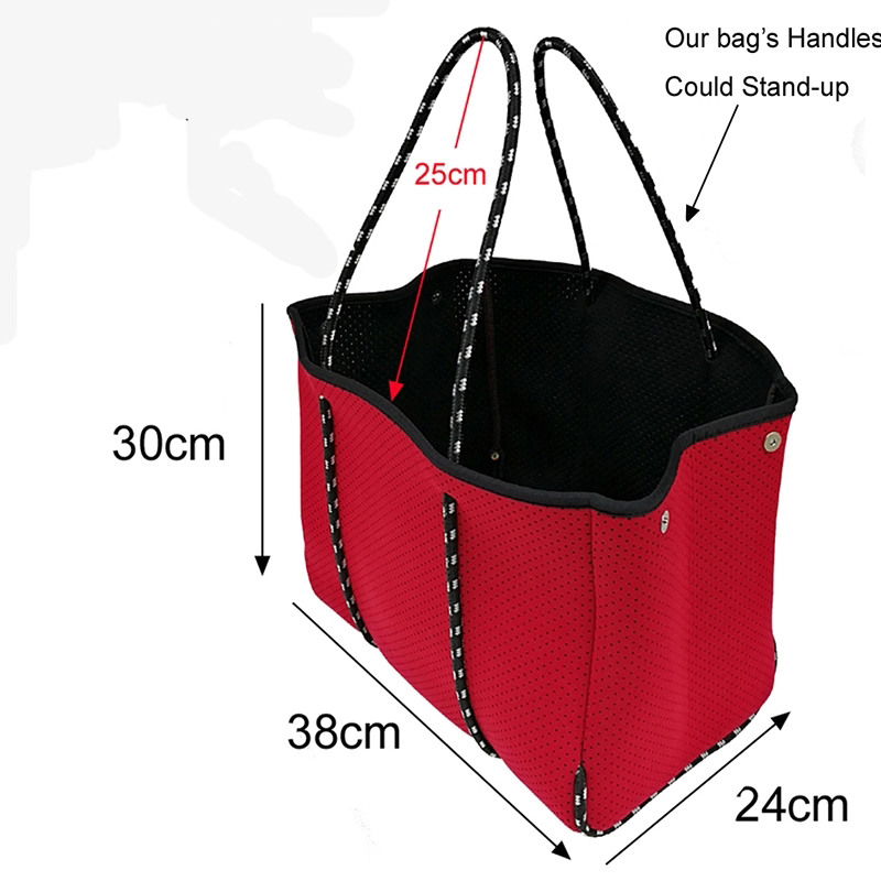 Prosperity sleeve neoprene bags carrier tote bag for travel-7
