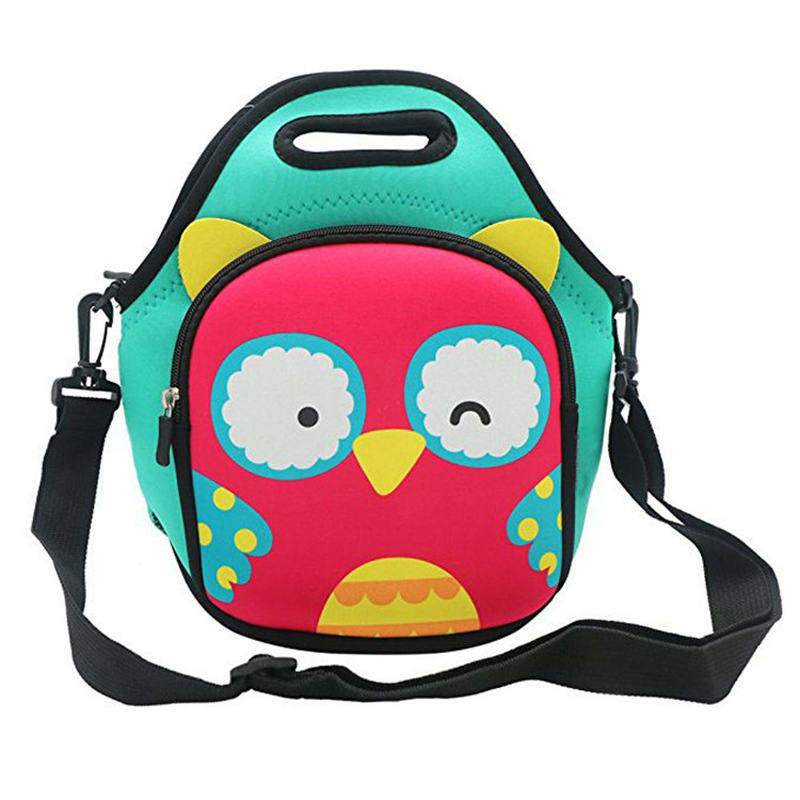Neoprene Insulated Lunch Bag with Detachable Adjustable Shoulder