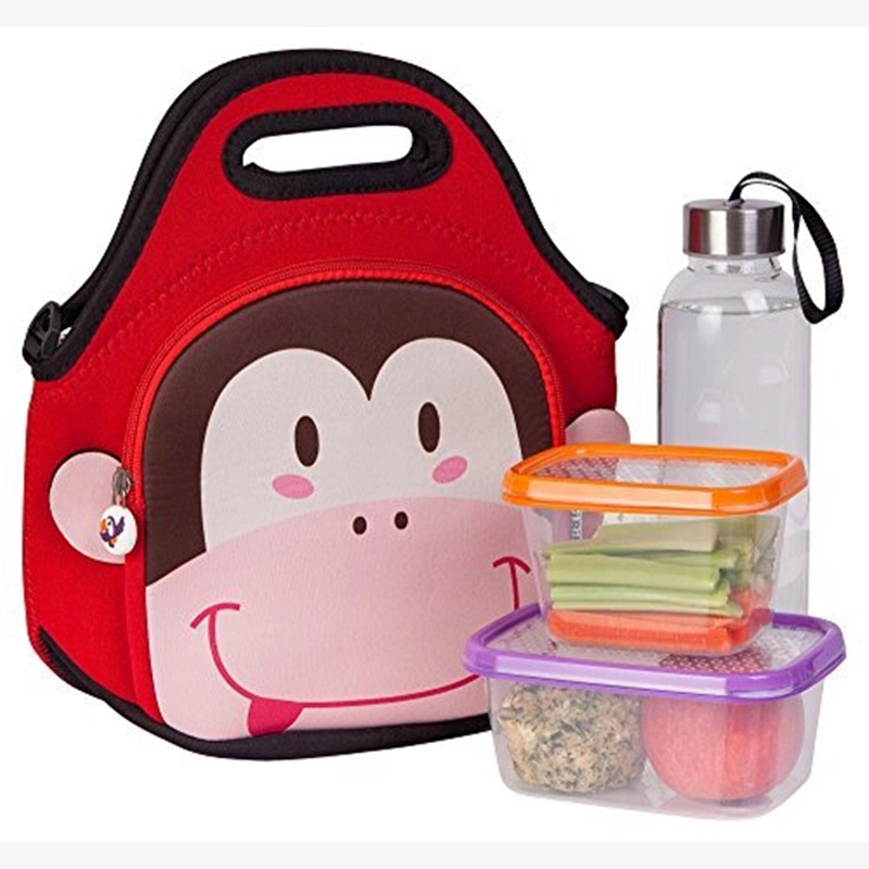 lunch neoprene bags with accessories pocket for travel
