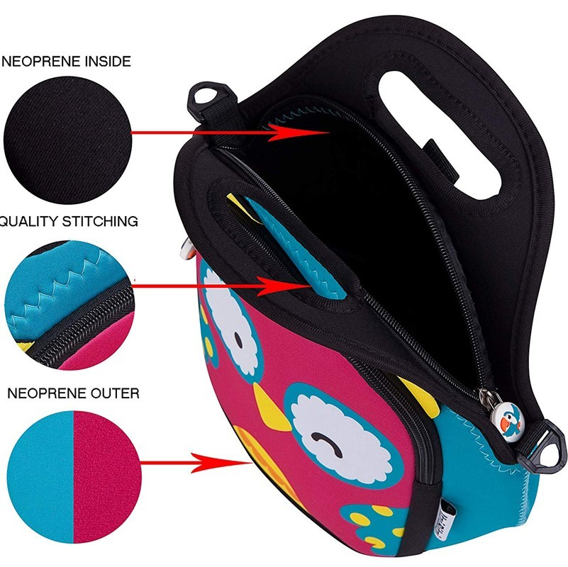 Prosperity wholesale neoprene bags carrying case for travel