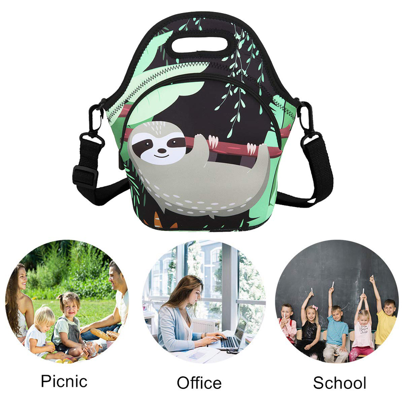 customized Neoprene bag with accessories pocket for sale-12
