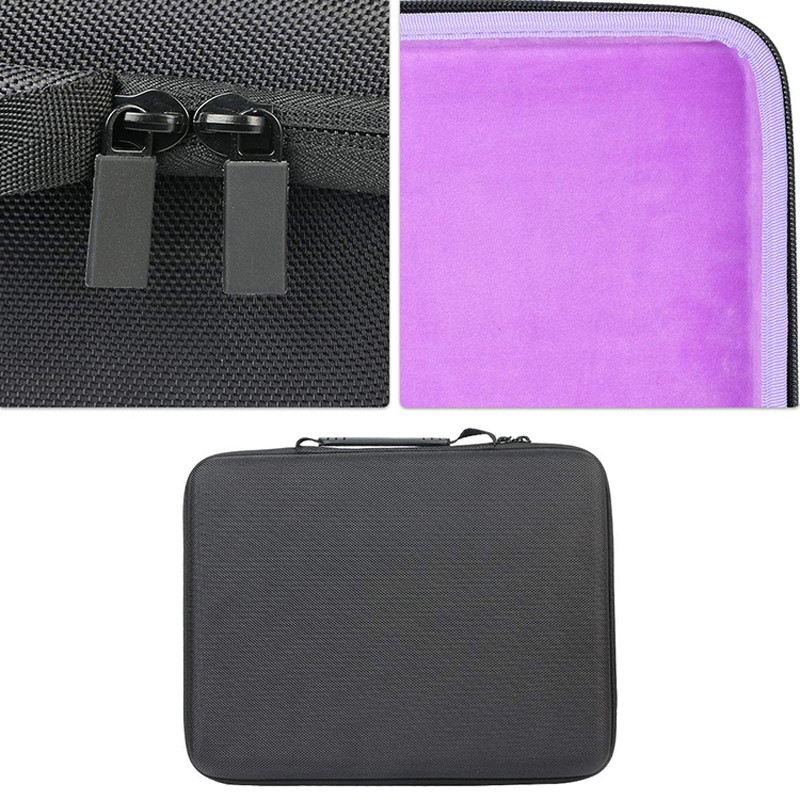 Prosperity waterproof EVA case disk carrying case for pens-7
