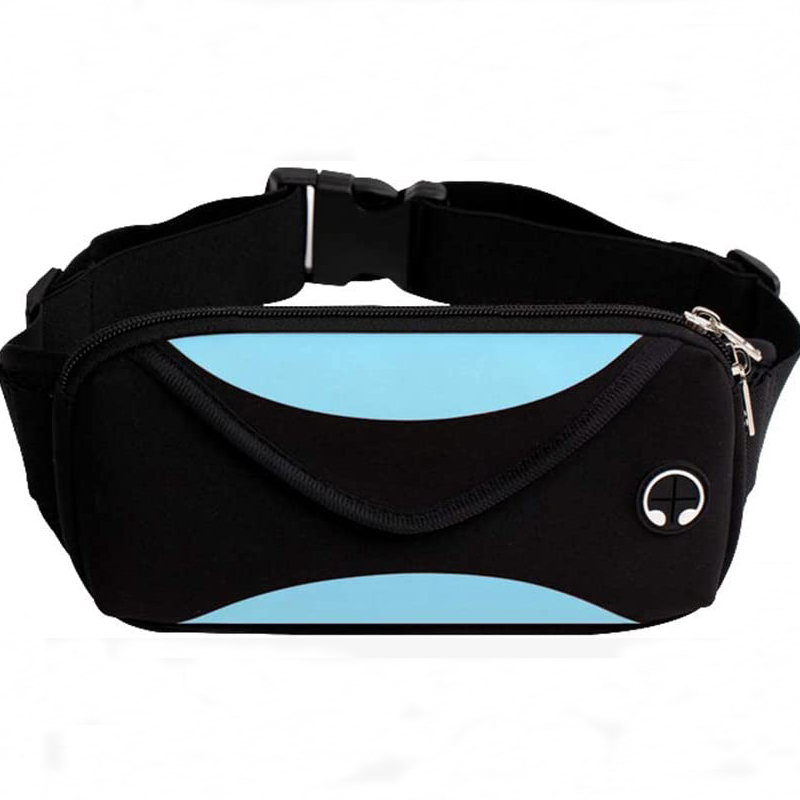 Neoprene Water Resistant Belt Waist Bag Pack for Runnning / Hiking