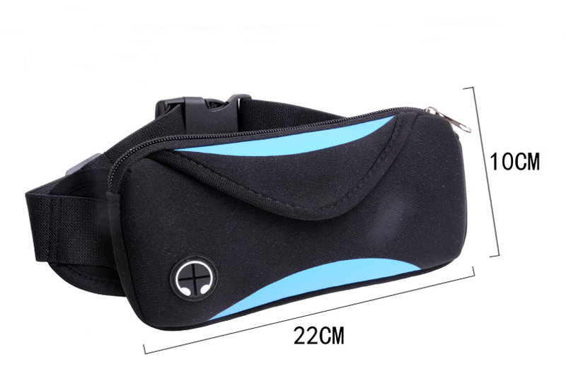 can shape custom neoprene bags with accessories pocket for travel-4