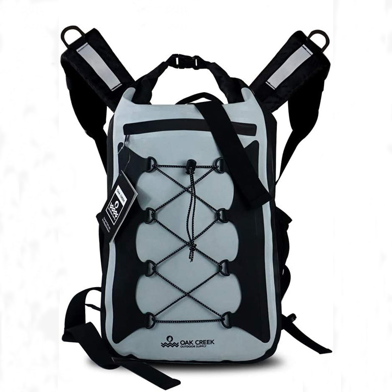 30L Dry Bag Backpack.  Premium Waterproof Backpack with Padded Shoulder Straps
