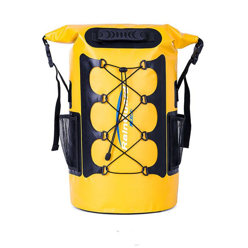 30L Dry Bag Backpack.  Premium Waterproof Backpack with Padded Shoulder Straps